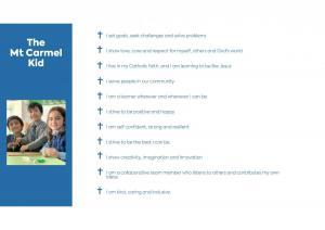 Mt Carmel School Strategic Plan pg 1