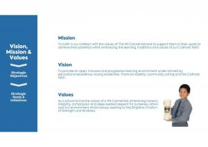 Mt Carmel School Strategic Plan pg 2